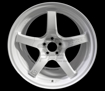 Picture of Gram Lights 57CR 18x9.5 +38 5x100 Ceramic White Pearl Wheel