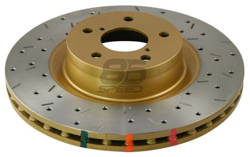 Picture of DBA T3 Drilled & Slotted 4000XS Series Rotor (Front)
