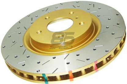 Picture of DBA Drilled & Slotted 4000XS Series Rotor (Front / Performance Package)