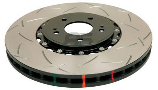 Picture of DBA T-Slot 5000 Series Rotor w/ Black Hat 2 Piece (Front / Performance Package)
