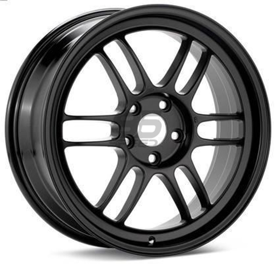 Enkei RPF1 17x9 5x100 +45 Black Wheel