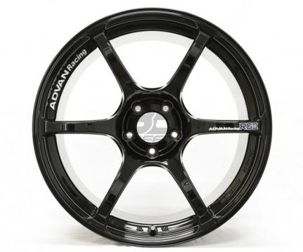 Picture of Advan Racing RGIII 18x9.5 5x100 +45 Racing Gloss Black Wheel