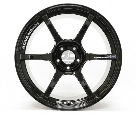 Picture of Advan Racing RGIII 18x9.5 5x100 +45 Racing Gloss Black Wheel