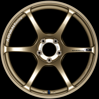 Picture of Advan Racing RGIII 18x9.5 5x100 +45 Racing Gold Metallic Wheel