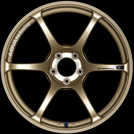 Picture of Advan Racing RGIII 18x9.5 5x100 +45 Racing Gold Metallic Wheel