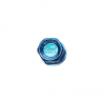Picture of DURA-NUT L32 STRAIGHT TYPE 12X1.25 16 LUG + 4 LOCK SET - BLUE ALMITE