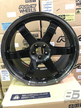 Picture of Volk TE37SL 18x9.5 +40 Pressed Double Black Wheel