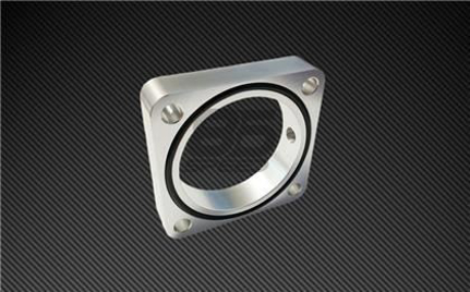 Picture of Torque Solution Silver Throttle Body Spacer 2013+ FRS/BRZ/86