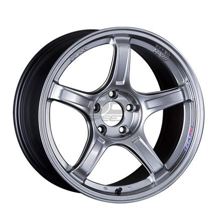 Picture of SSR GTX03 18x8.5 +45 5x100 Platinum Silver Wheel