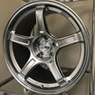 Picture of SSR GTX03 18x9.5 +38 5x100 Platinum Silver Wheel