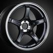 Picture of SSR GTX03 18x9.5 +38 5x100 Black Graphite Wheel