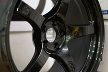 Picture of Gram Lights 57CR 18X9.5 5x100 +38 Glass Black Wheel