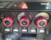 Picture of Dual Climate Control A/C Knob Cover Set (3pc)