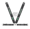 Picture of Takata ASM Race 4-Point Snap-On Harness (Black Version)