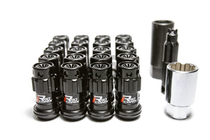 Picture of Project Kics R40 Iconix M12x1.25 Black Lug Nuts w/ Locks