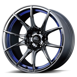 Picture of WedsSport SA10R 18x8.5 +45 5x100 Blue Light Chrome