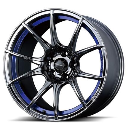Picture of WedsSport SA10R 18x8.5 +45 5x100 Blue Light Chrome