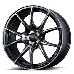 Picture of WedsSport SA10R 18x8.5 +45 5x100 Zebra Black Clear