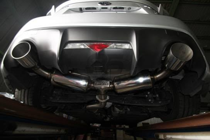 Picture of Invidia N2 Cat-back Exhaust Dual Stainless Steel Tips FRS/BRZ/86