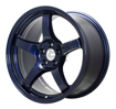 Picture of Gram Lights 57CR 18x9.5 +38 5x100 Eternal Blue Pearl