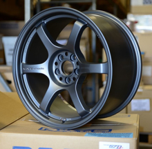 Picture of Gram Lights 57DR 18x8.5 5x100  +37 Gun Blue II Wheel