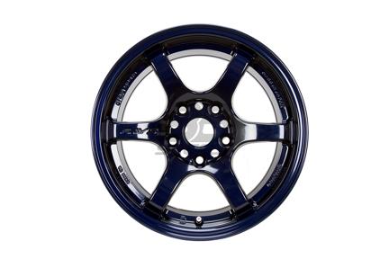 Picture of Gram Lights 57DR 18x9.5 5x100  +38 Dark Blue Wheel