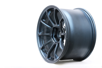 Picture of Volk ZE40 Matte Blue Gunmetal 18x10 +40 5x100