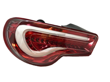 Picture of WRQ Valenti Style Sequential Taillights  w/ Red Housing and White Bar