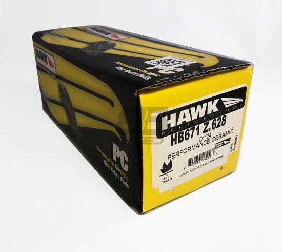 Frs Brake Pads >> Hawk Performance Ceramic Brake Pads Rear Subaru Brz Scion Frs