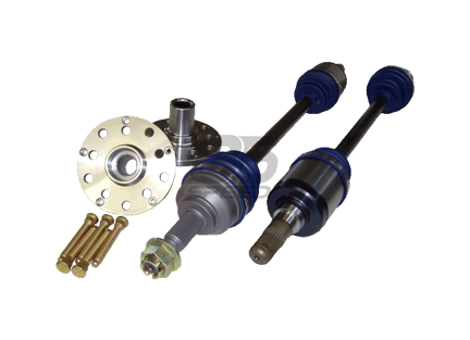 Axles, Hub Adapters, and Hub Bolts