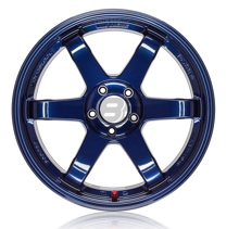 Picture of Volk TE37SL 18x9.5 5x100 +40 Mag Blue