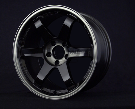 Picture of Volk TE37SL 18x9.5 +45 Pressed Double Black Wheel
