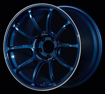 Picture of Advan Racing RZ-F2  18x9.5 +44  5x100 Racing Titanium Blue and Ring