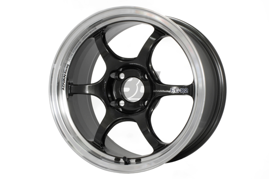 Picture of Advan Racing RG-D2 18x9 +45 5x100 Machining and Black Gunmetallic