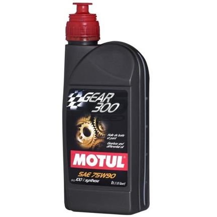 Picture of MOTUL Gear Fluid - Gear 300  Size: 1L Bottle (1.05 qt)