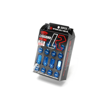 Picture of Project Kics Leggdura Racing Lug Nuts Blue