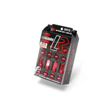 Picture of Project Kics Leggdura Racing Lug Nuts Red