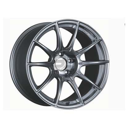 Picture of SSR GTX01 17X9 +38 Dark Silver Wheel