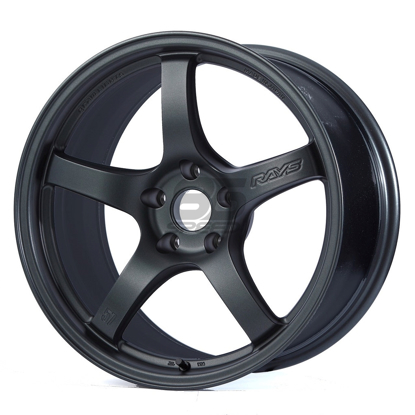 Picture of Gram Lights 57CR 17x9 5x100 +38 Gun Blue II Wheel