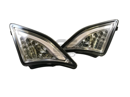 Chrome/Clear LED Signal Corner Lights 2012-2015 FRS