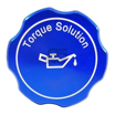Torque Solution Billet Oil Cap Blue