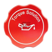 Torque Solution Billet Oil Cap Red