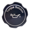 Torque Solution Billet Oil Cap Black