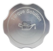Torque Solution Billet Oil Cap Silver