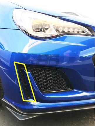 Subaru BRZ tS Edition Bumper Trim Cover Pair