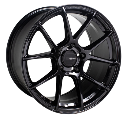 Picture of Enkei TSV 18x9.5 5x100 +45 Gloss Black