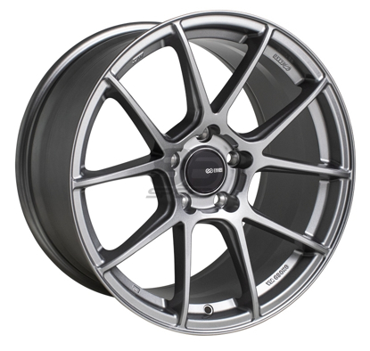 Picture of Enkei TSV 17x8 5x100 +45 Storm Grey