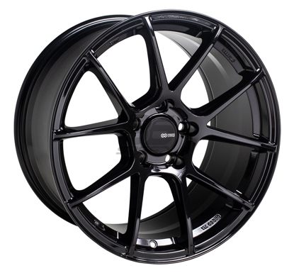 Picture of Enkei TSV 17x8 5x100 +45 Gloss Black