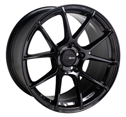 Picture of Enkei TSV 17x8 5x100 +45 Gloss Black