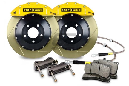 Picture of StopTech BBK Yellow Slotted Rear 345x28mm FRS / BRZ